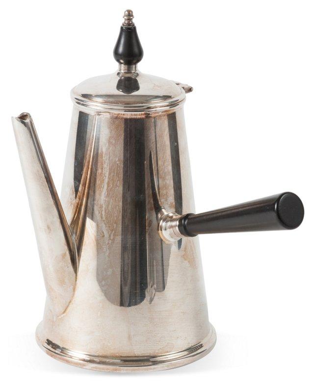 Silver Chocolate Pot