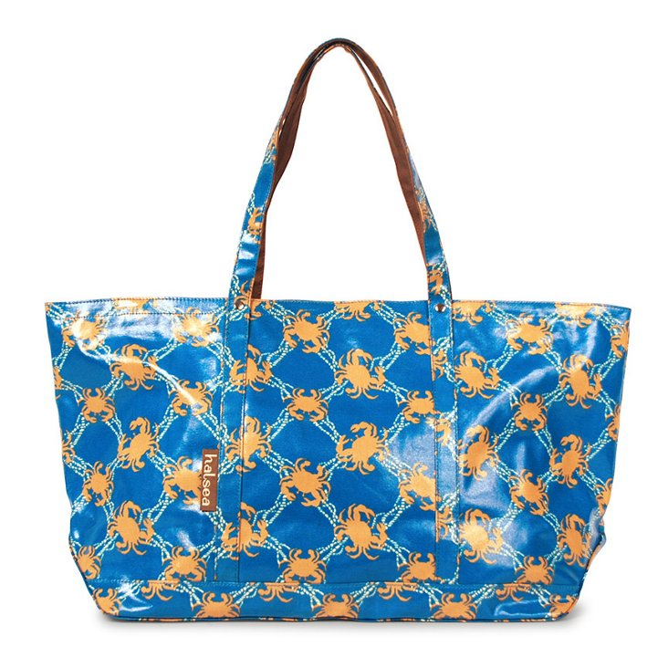 Large Tote, Blue Boat Canyon