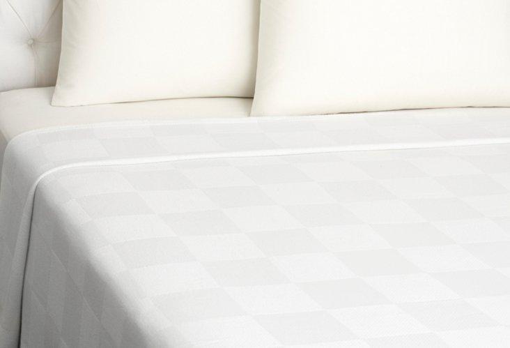 Bambo Blanket, White
