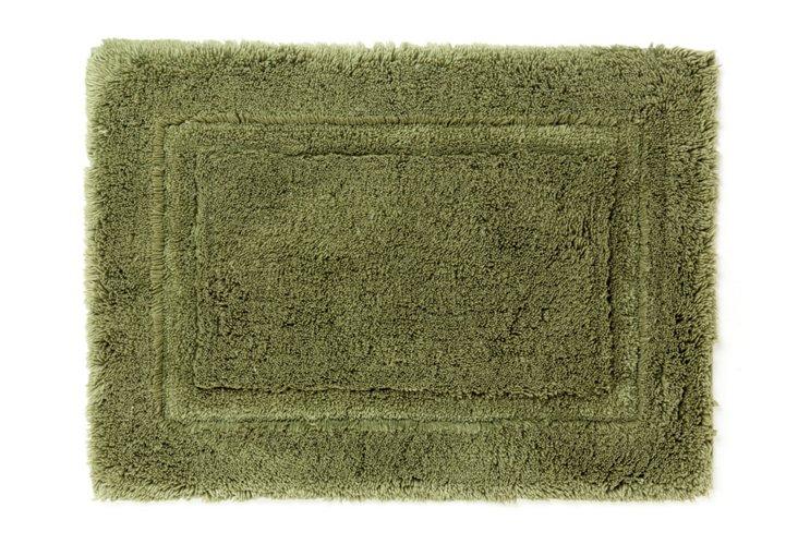 Egyptian Cotton Non-Slip Rug, Moss