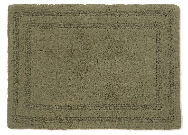 Cotton Reverse Rug, Moss