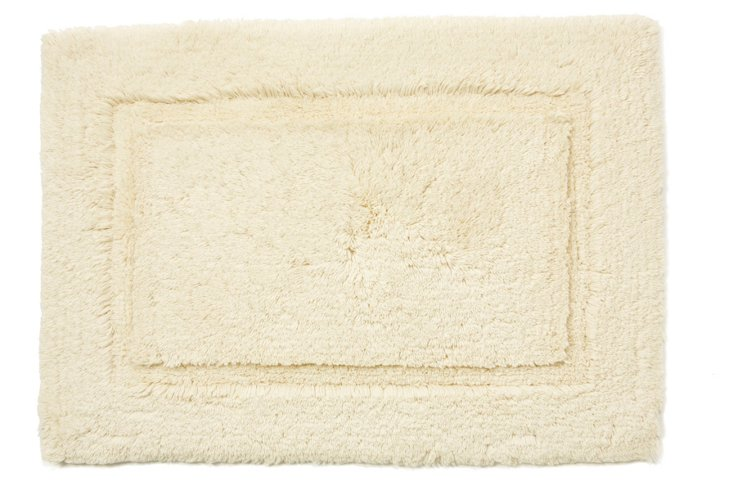 Cotton Reverse Rug, Ivory