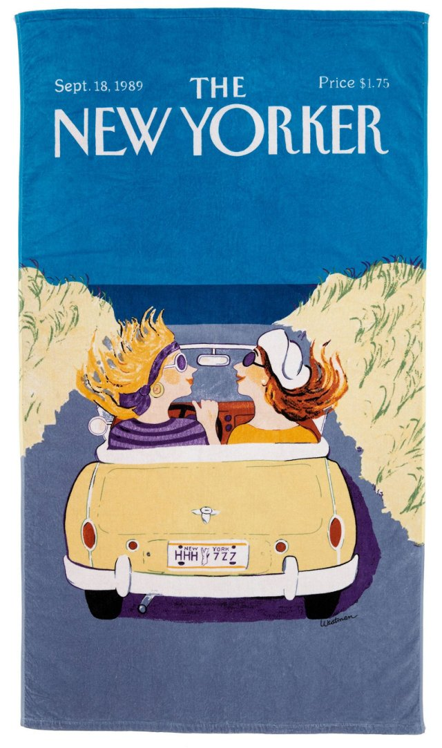 Condé Nast Beach Towel, Friends Cruising