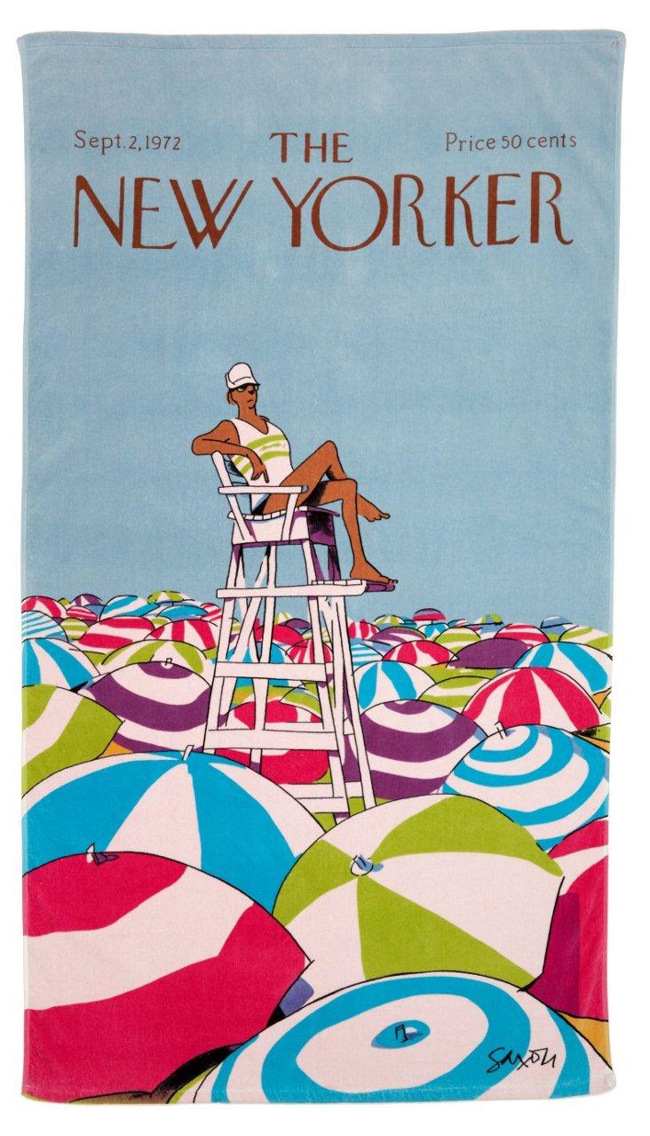 Condé Nast Beach Towel, On Duty