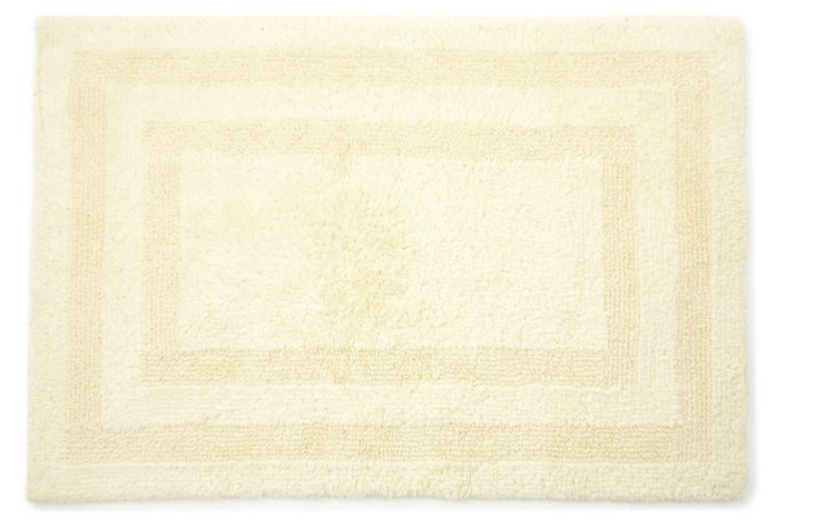 Cotton Reverse Rug, Butter