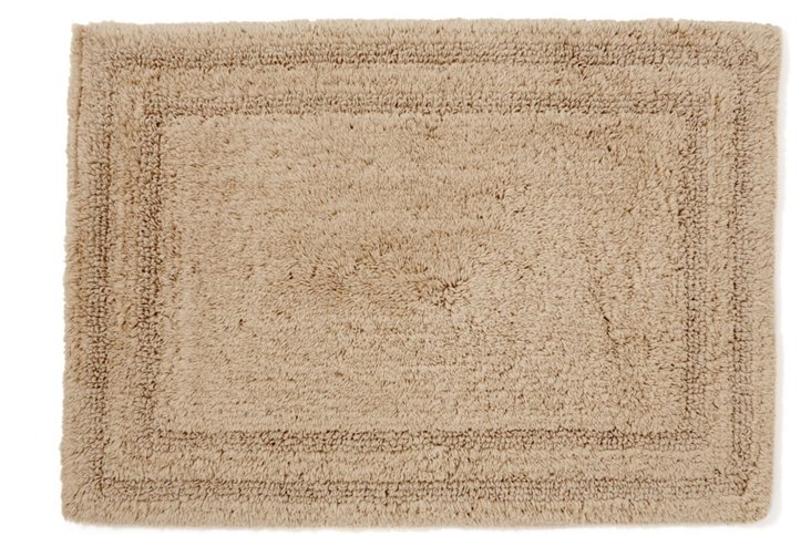Cotton Reverse Rug, Latte