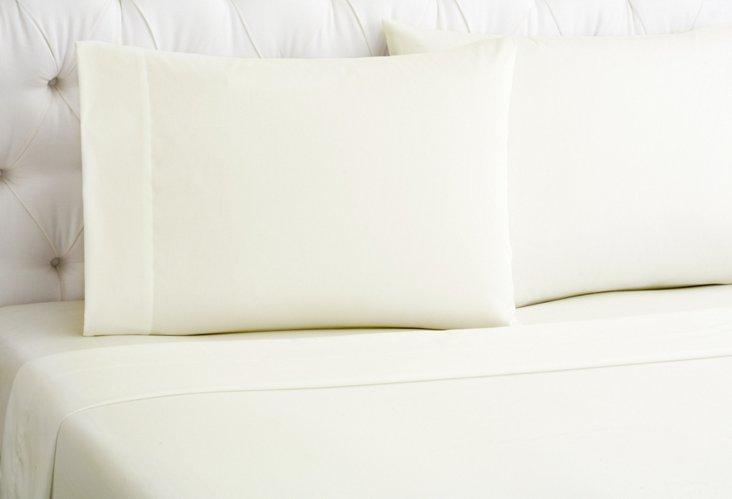 Wrinkle-Free Sheet Set, Ivory
