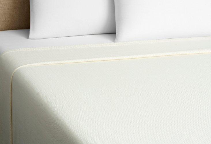 Microcotton Classic Blanket, Ivory
