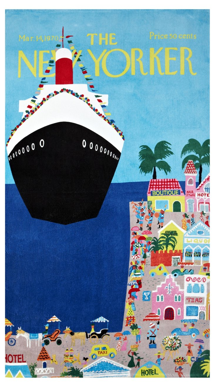 Condé Nast Beach Towel, Cruise Ship