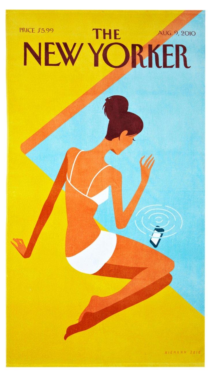 Condé Nast Beach Towel, Dropped Call