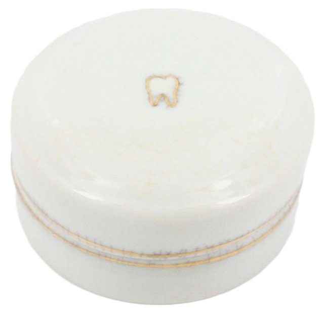 "4"" Tooth Fairy Keepsake Box, White"