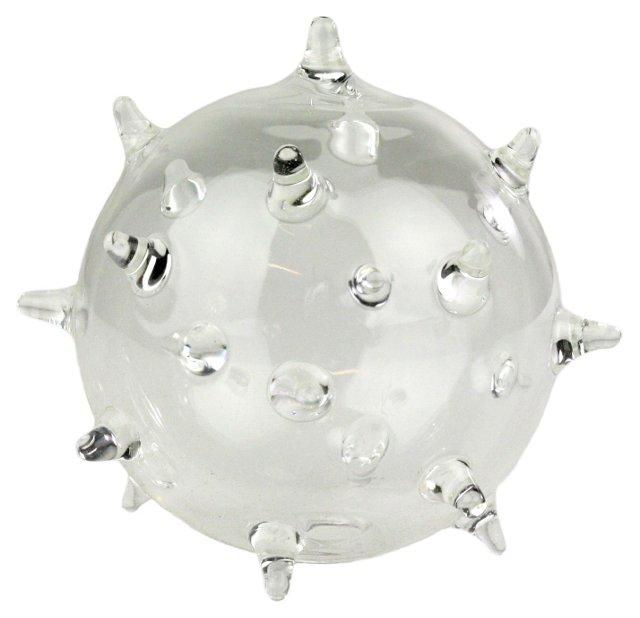 """4"""" Sputnik Glass Bud Vase"""