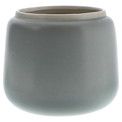 Helm Ceramic Vase, Medium