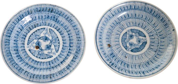 Imari Plates, Set of 2