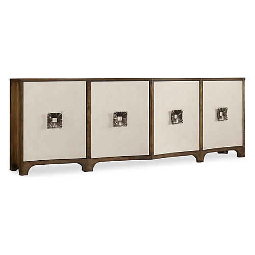 "Emmy 92"" Sideboard, Toffee/Cream"