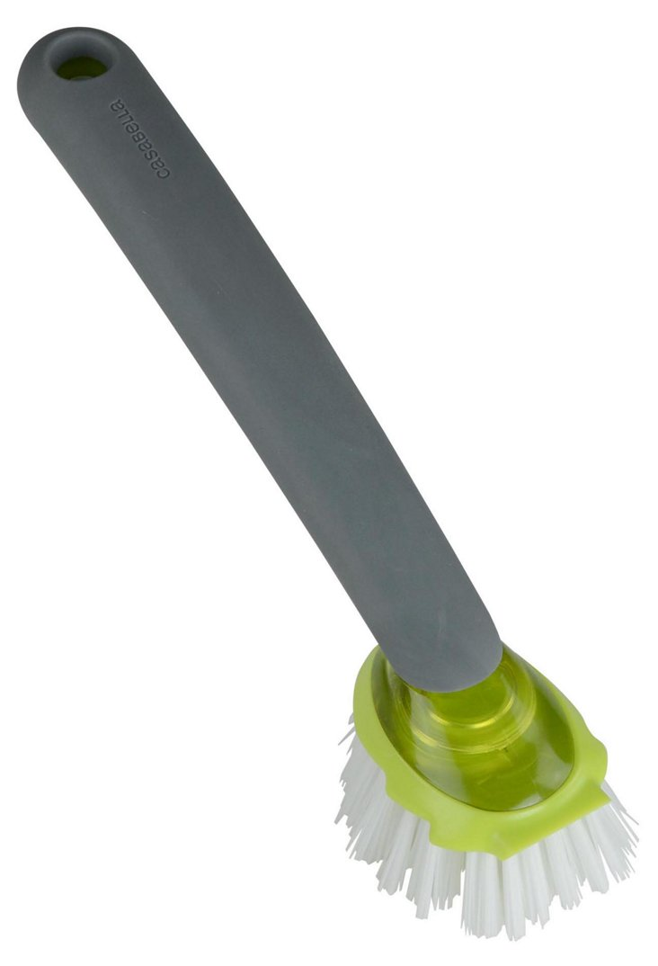 S/2 Dish Brushes, Lime