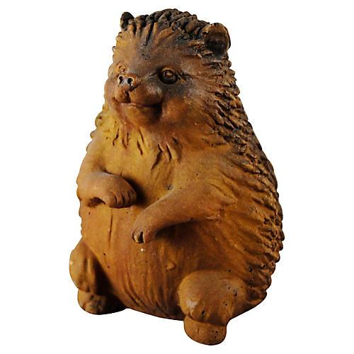 "8.5"" Hedgehog Statue, Sandstone"
