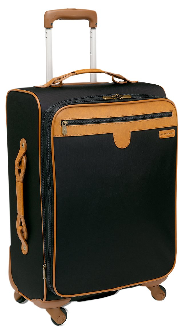"21"" Expandable Spinner Carry-On, Black"