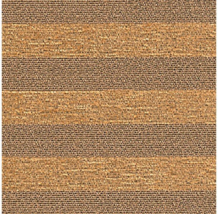 Stripe Up the Band Fabric, Slate