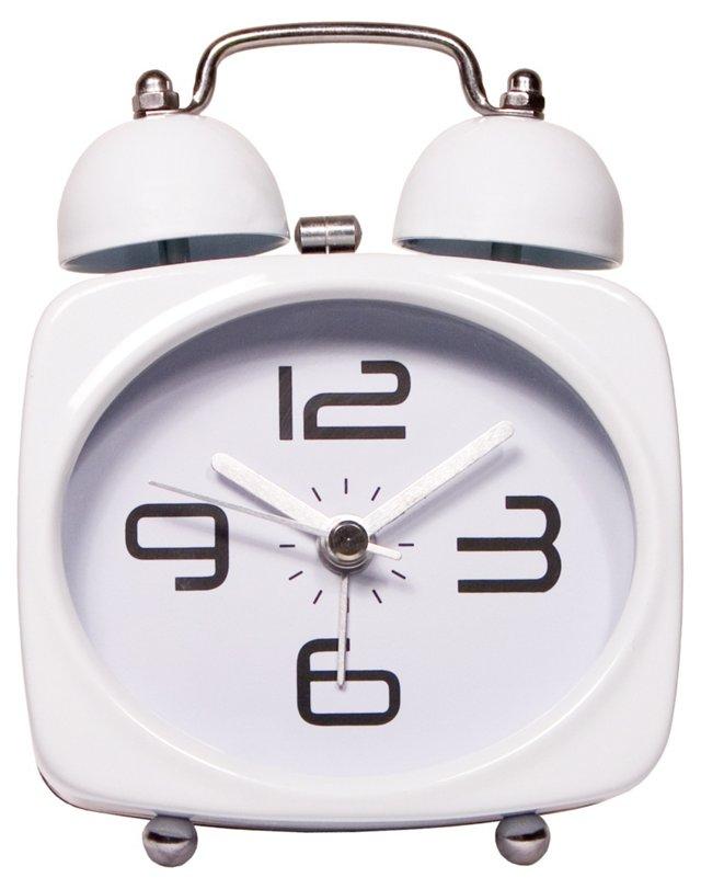 No Tick Tock Clock, White