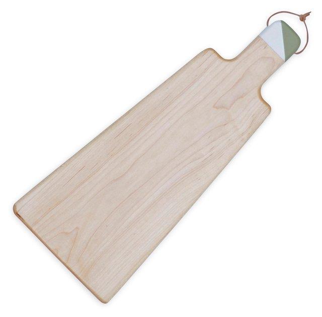 Cheese Board, Green & White