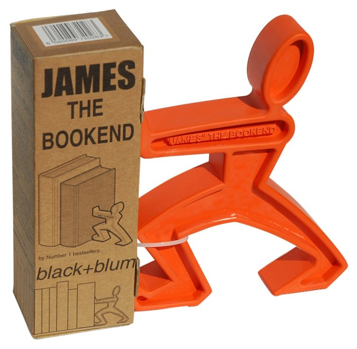 James the Bookend, Orange