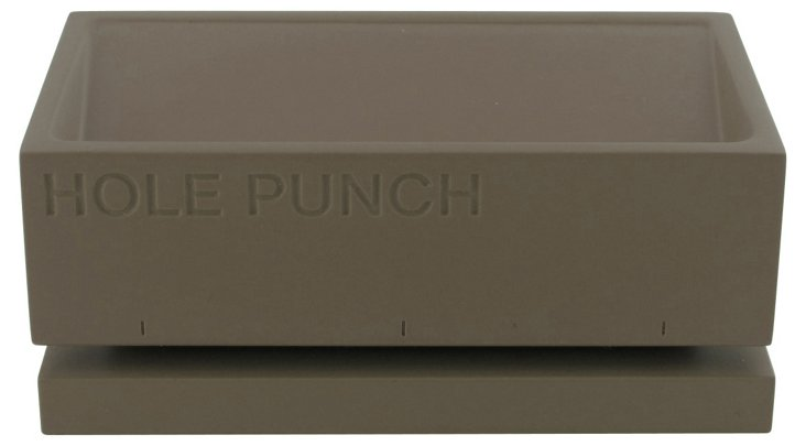 Hole Puncher, Gray