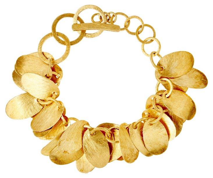 Brushed Petals Bracelet