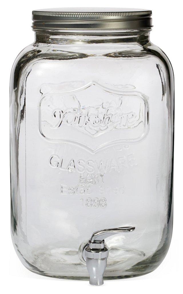 Mason Jar Beverage Dispenser