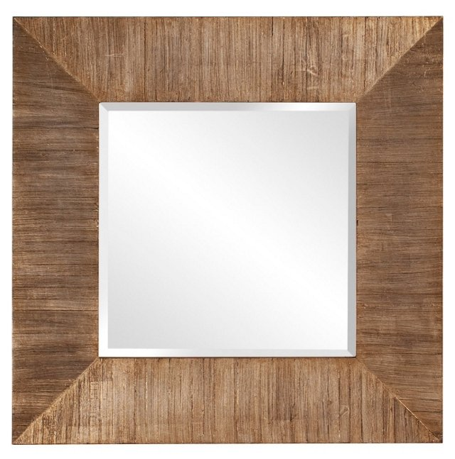 James Wall Mirror, Natural