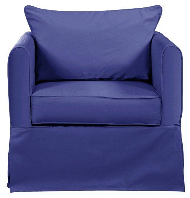 Marigot Outdoor Chair, Ocean