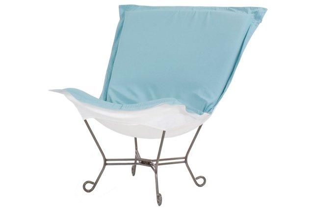 Patio Puff Chair, Breeze
