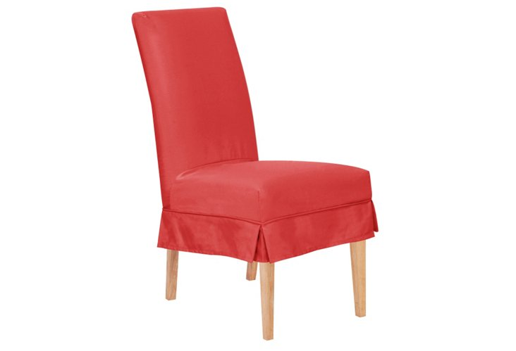 Parsons Patio Short Chair, Punch