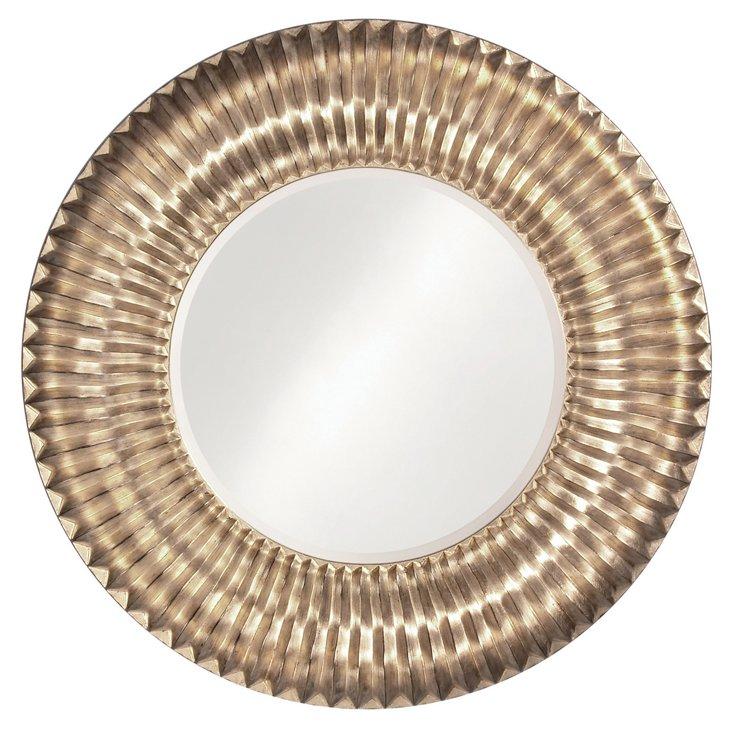Sao Paulo Mirror, Silver Leaf