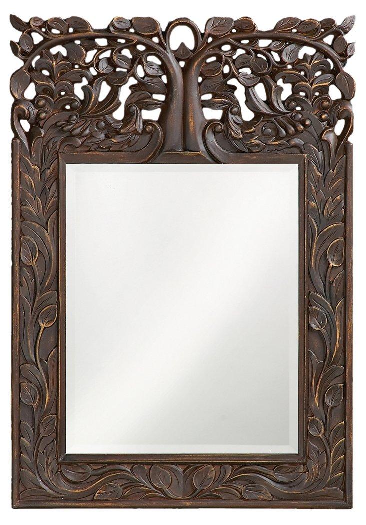Oakvale Antique Mirror