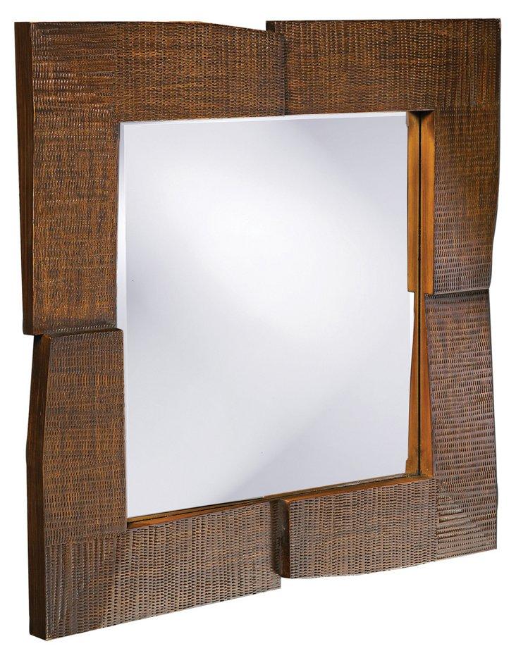 Hayward Wall Mirror, Oak