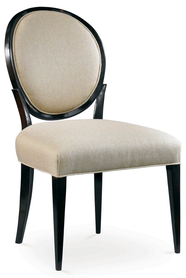 Stratos Side Chair, Ivory