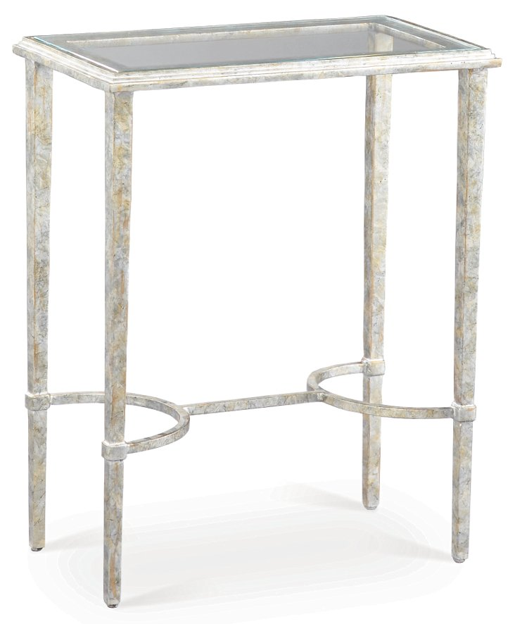 Innovation Side Table, Silver