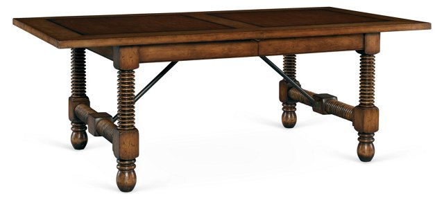 "Catherine 82-126"" Extension Dining Table"