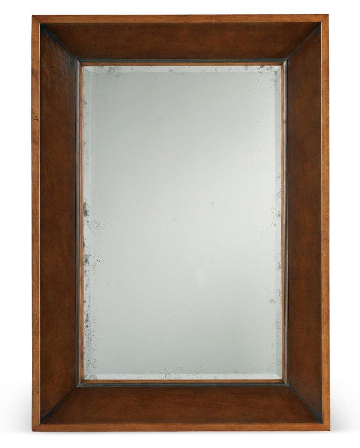 "McCarthy 50"" Mirror, Sepia"