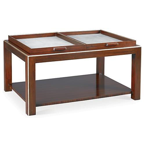 Worley Shagreen Coffee Table