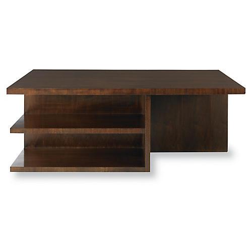 Skyloft Coffee Table, Walnut