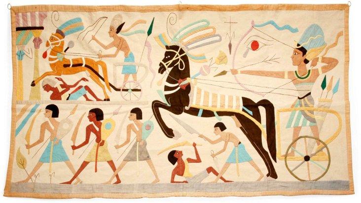 1920s Egyptian Panel