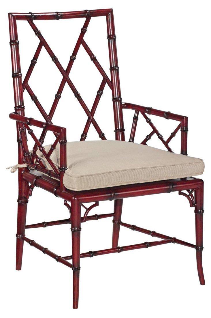 Billiards Armchair, Red