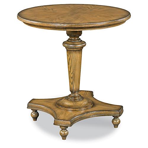 Barcelona Pedestal Table, Ash