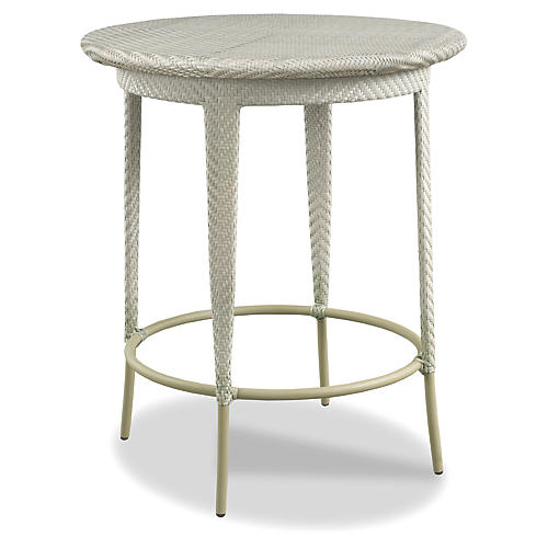 Carleton Outdoor Bar Table, Chelsea Gray