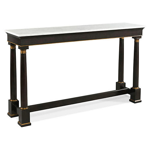 Connor Console, White