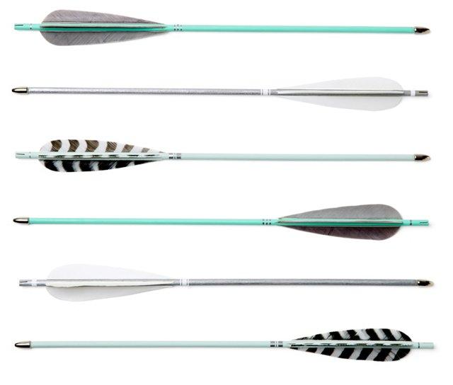 """16"""" Silver Arrows, Asst. of 6"""