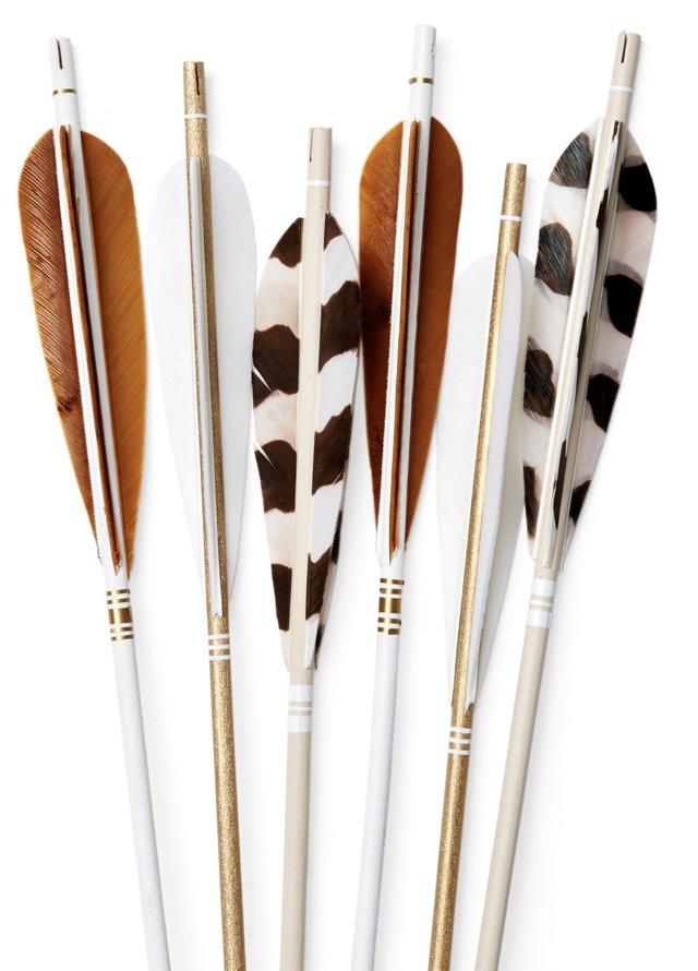 "28"" Safari Arrows, Asst. of 6"