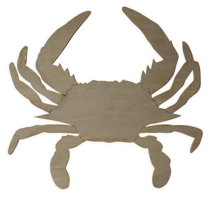 "32"" Mister Crab, Driftwood Gray"